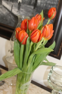 romantic tulips