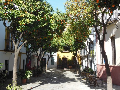 Seville, Spain winter